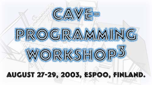 CAVE Programming Workshop 3 logo
